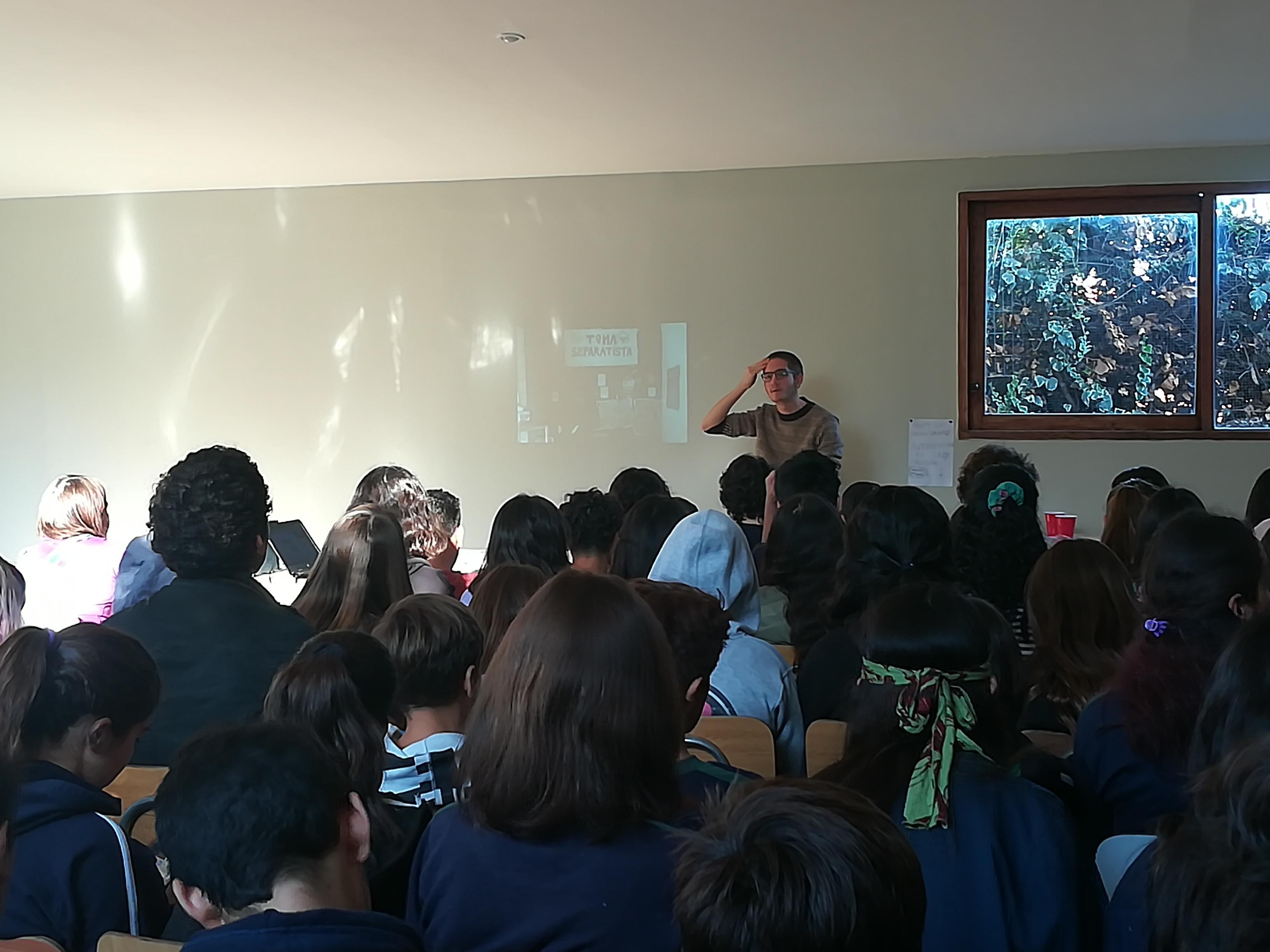 <span class='slide-title'><p>Actividad Diversidad de Género Centro de Alumnos</p></span>